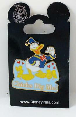 Disney Donald Duck Chicks Dig Me Pin