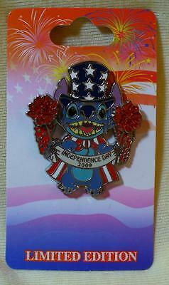 Disney Stitch Independence Day 2009 LE Pin