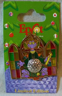 Walt Disney World Epcot 2009 Candlelight Processional Figment LE Pin