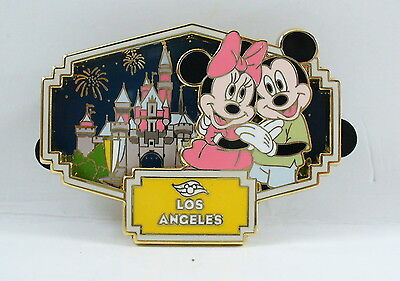 DCL Disney Cruise Line Mickey Minnie Mouse Los Angeles Pin