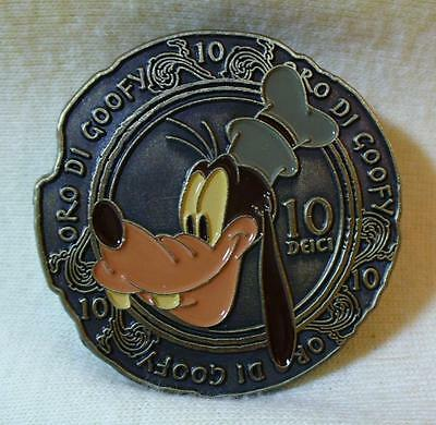 Walt Disney World 2009 Pin-Tiquities Ancient Coin Goofy LE Pin
