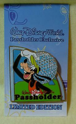 Walt Disney World Passholder 2008 Goofy Epcot LE Pin