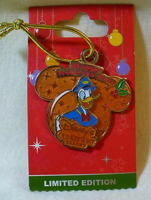 Walt Disney World Happy Holidays 2008 Old Key West Donald Duck LE Pin