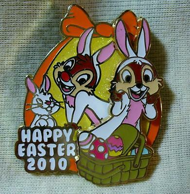 Disney Happy Easter 2010 Chip & Dale LE Pin