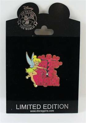 Disney Store Initial Letter Series Tinker Bell Pin LE 250