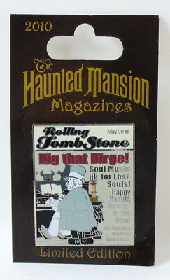 Disney Haunted Mansion Magazines Rolling Tomb Stone LE Pin