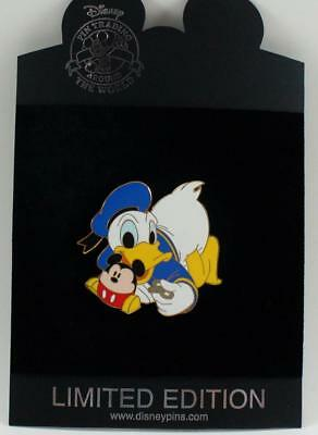 Disney Store Time For Toys Donald Duck & Mickey Mouse Pin LE 250