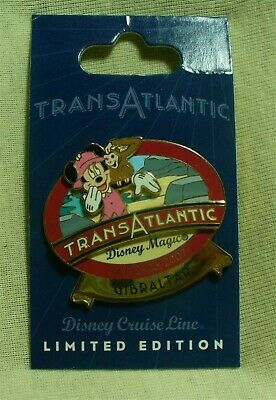 Disney Cruise Line Transatlantic Cruise May 2007 Minnie Mouse Gibraltar LE Pin