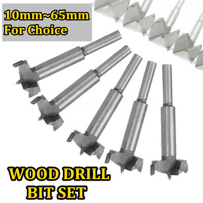 AU 14-65mm HSS Forstner Woodworking Boring Wood Hole Saw Cutter Drill Bit Tool