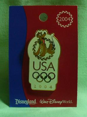 Disney Pluto USA 2004 Olympics Pin