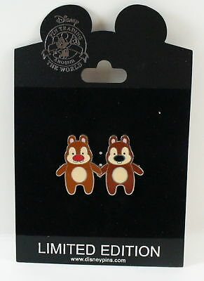 Disney Store Pook-a-Looz Series Chip & Dale Pin LE 250