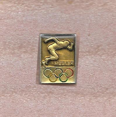 Moscow 1980 Summer Olympic Games Official Pin Track And Field