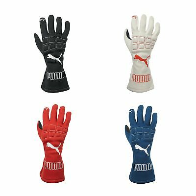 Puma Furio FIA Approved Rubber Palm Race / Rally / Motorsport Driving Gloves