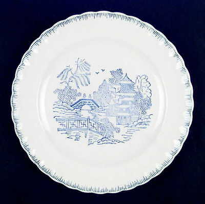 American Limoges BLUE WILLOW Dinner Plate 1711570