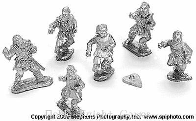 Old Glory Mongols in Europe 2 Eastern European Peasant Infantry w/Spe Pack MINT