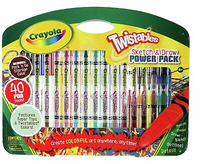 Crayola Twistables 40 Piece Sketch and Draw Set - 4+ Years.