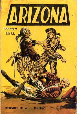 Arizona 6  Editions Des Remparts 1962