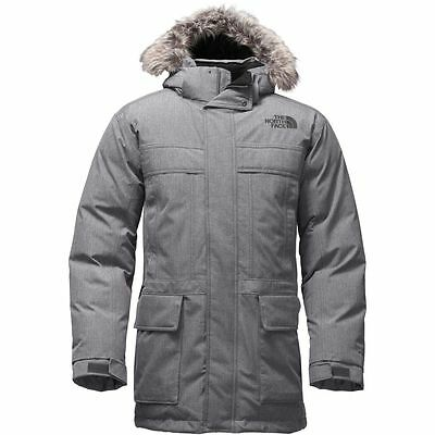 2a86a2409 THE NORTH FACE Men's McMurdo Parka II 550 Down Jacket TNF Med Grey Heather  M L
