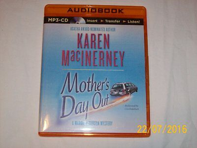 MOTHER'S DAY OUT by KAREN MACINERNEY (2014, MP3 CD,UNABRIDGED)