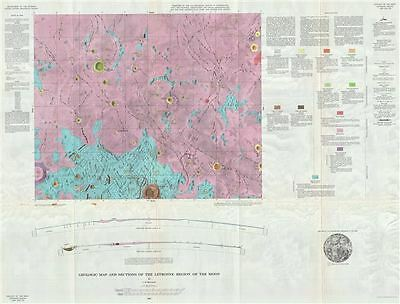1963 USGS Geologic Map of the Moon: Letronne Region