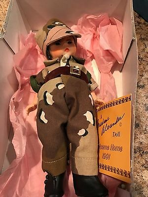 """2pc Lot Vintage Madame Alexander Doll 8"""" Welcome Home 1991 Different Versions"""