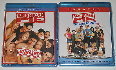 Comedy Blu-ray Lot - American Pie (New) The Book of Love (New)
