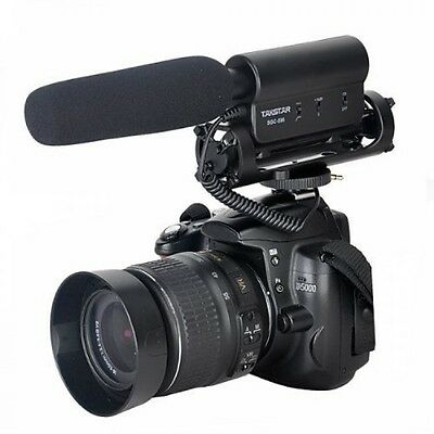 SGC598 Photography Interview Shotgun MIC Microphone for Nikon Canon DSLR Camera