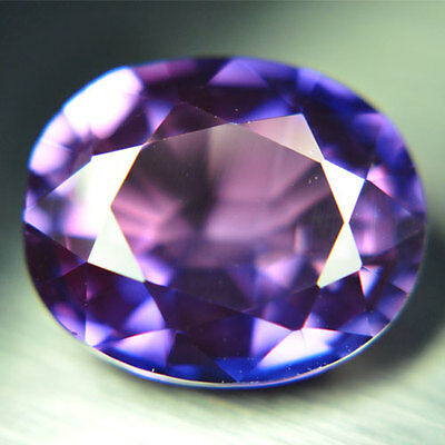 17.65ct.RAVISHING PURPLE BLUE SAPPHIRE OVAL LOOSE GEMSTONE