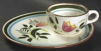 """Stangl COUNTRY GARDEN Snack Set 8 1/8"""" S7864506G2"""