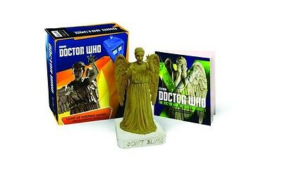 DOCTOR WHO LIGHT UP WEEPING ANGEL & Illustrated BOOK KIT  #sapr17-36