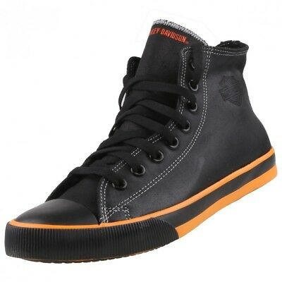 En Chaussures Bootys Harley Montantes Neuf Lacets Cuir Homme Baskets Davidson À OPZTkXiu