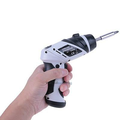 Portable 6V Screwdriver Electric Drill Battery Operated Cordless Wireless &Screw