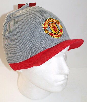 Manchester United Official Hat (Grey & Red)