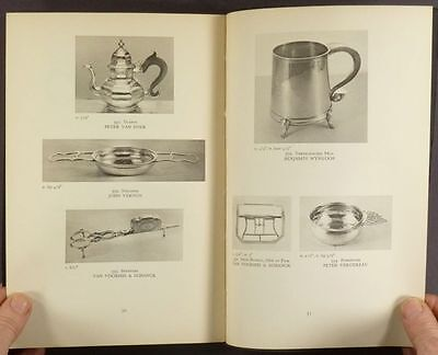 Antique New York Silver -17th 18th 19th Century - 1937 Exhibit Catalog