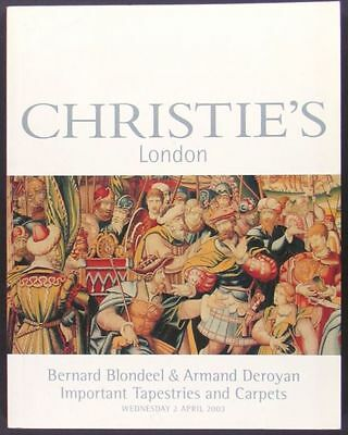 Book: Blondeel & Deroyan Christies- Oriental Rugs Carpets / European Tapestries