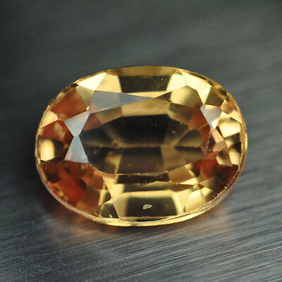 2.35ct.RAVISHING YELLOW SAPPHIRE OVAL LOOSE GEMSTONE