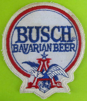 BUSCH BAVARIAN BEER PATCH with EAGLE Flying A BUDWEISER Anheuser-Busch MISSOURI