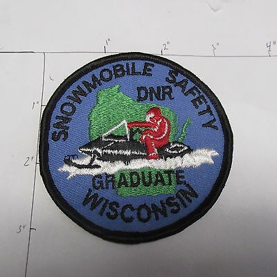 Wisconsin Snowmobile Safety Graduate Dnr Natural Resource Recreation Parks Patch