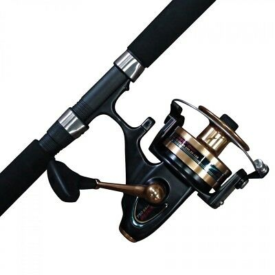 12 Foot Ugly Stick Fishing Rod with a penn 850SSM spinfisher reel