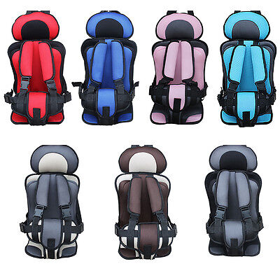 Portable Car Baby Kids Safety Seat Chair Children Thick Sponge Infant Belt Tilt