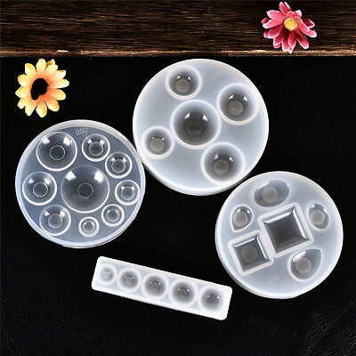 DIY Silicone Crystal Drops of Glue Mold Jewelry Making Mould Pendant Craft Mould