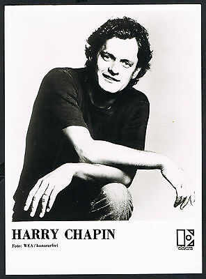 Harry Chapin, Singer-music-Musik, Songwriter, Pressefoto, press photo /118