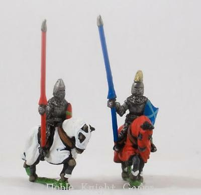 Essex Ancient Mini  Polish - Mounted Knights 1380-1440 in Jupon & Hel Pack MINT