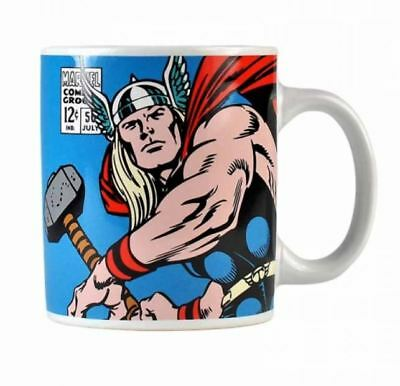 Thor Marvel Comics Vintage Style Coffee Mug Cup New And Gift Box