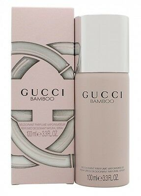 Gucci Bamboo Deodorant Spray - Women's For Her. New. Free Shipping