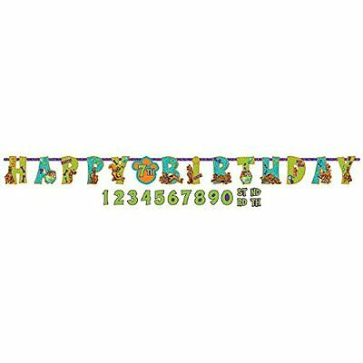 Scooby Doo Were Are you Add an Age Letter banner - Party Decoration Kit