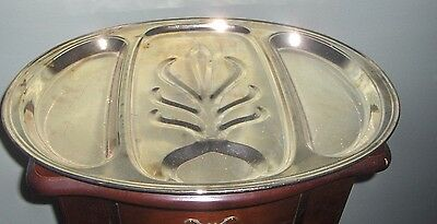 Silver Plated Tray Serving Platter 1900-1940 Silverplate