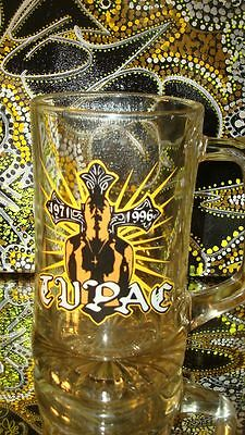 large rare 2pac Beer glass