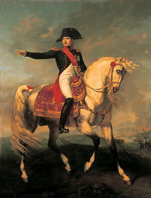 Handmade Oil Painting repro  Emperor of the French Napoleon