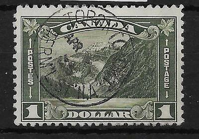 Canada Sg303 1930 $1 Olive-Green Used